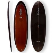 Surfboard McCoy - Double Ender 5.11 XF brown