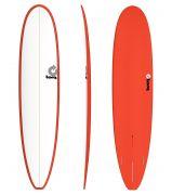 Surfboard TORQ Epoxy TET 8.6 Longboard White Red